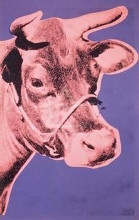 Cow, 1976 poster print by Andy Warhol