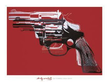Guns, C 1981-82 poster print by Andy Warhol