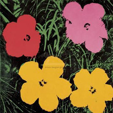 Flowers, 1964 (1 Red, 1 Pink, 2 Yellow) poster print by Andy Warhol