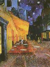 Cafe Terrace at Night poster print by Vincent van Gogh