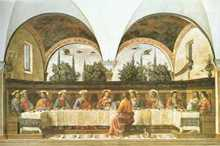 Last Supper poster print by Domenico Ghirlandaio