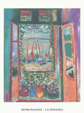 Window poster print by Henri Matisse