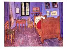 Bedroom at Arles poster print by Vincent van Gogh