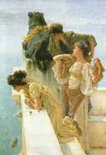 Advantageous Position poster print by Sir Lawrence Alma-Tadema