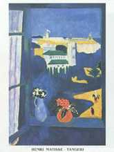 Tangiers poster print by Henri Matisse