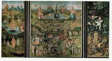 Garden of Earthly Delights poster print by Hieronymus Bosch