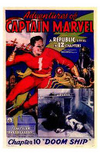 Adventures of Captain Marvel poster print by  Entertainment Poster