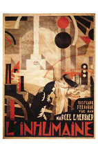L'inhumaine poster print by  Entertainment Poster