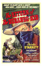 Return of the Durango Kid, the poster print by  Entertainment Poster