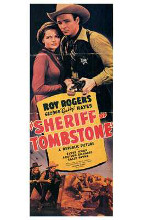 Sheriff of Tombstone poster print by  Entertainment Poster