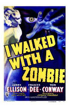 I Walked with a Zombie poster print by  Entertainment Poster