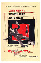 North By Northwest poster print by  Entertainment Poster