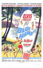 Blue Hawaii poster print by  Entertainment Poster