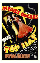 Top Hat poster print by  Entertainment Poster