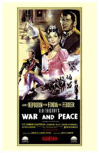 War and Peace poster print by  Entertainment Poster