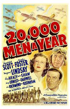 20,000 Men a Year poster print by  Entertainment Poster