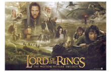Lord of the Rings 1: the Fellowship of t poster print by  Entertainment Poster