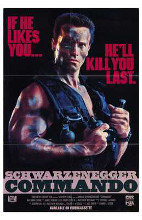 Commando poster print by  Entertainment Poster