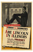 Abe Lincoln in Illinois poster print by  Entertainment Poster