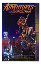 Adventures in Babysitting poster print by  Entertainment Poster