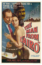 Man from Cairo, the poster print by  Entertainment Poster