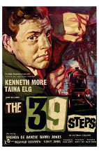 39 Steps, the poster print by  Entertainment Poster