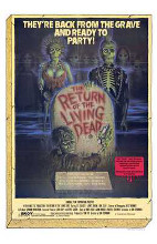 Return of the Living Dead poster print by  Entertainment Poster