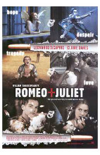 William Shakespeare's Romeo Juliet poster print by  Entertainment Poster
