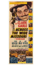 Across the Wide Missouri poster print by  Entertainment Poster