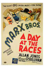 Day At the Races, a poster print by  Entertainment Poster