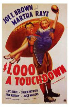$1,000 a Touchdown poster print by  Entertainment Poster
