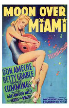 Moon Over Miami poster print by  Entertainment Poster