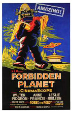 Forbidden Planet poster print by  Entertainment Poster