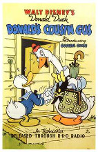 Donald's Cousin Gus poster print by  Entertainment Poster