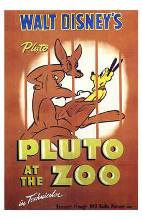 Pluto At the Zoo poster print by  Entertainment Poster