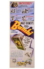 Bambi poster print by  Entertainment Poster