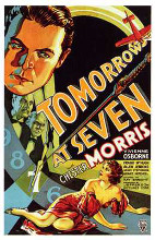 Tomorrow At Seven poster print by  Entertainment Poster