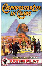 Cosmopolitan Life in Cairo poster print by  Entertainment Poster