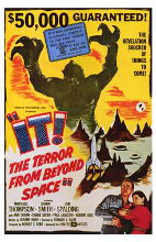It! the Terror from Beyond Space poster print by  Entertainment Poster