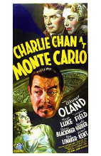 Charlie Chan At Monte Carlo poster print by  Entertainment Poster