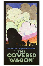 Covered Wagon, the poster print by  Entertainment Poster