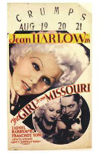 Girl from Missouri, the poster print by  Entertainment Poster