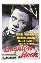 Brighton Rock poster print by  Entertainment Poster