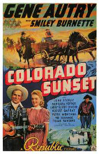 Colorado Sunset poster print by  Entertainment Poster