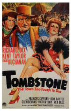 Tombstone, the Town Too Tough to Die poster print by  Entertainment Poster