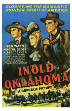 in Old Oklahoma poster print by  Entertainment Poster