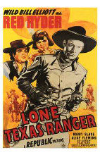 Lone Texas Ranger poster print by  Entertainment Poster