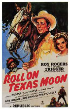Roll on Texas Moon poster print by  Entertainment Poster