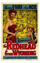 Redhead from Wyoming, the poster print by  Entertainment Poster