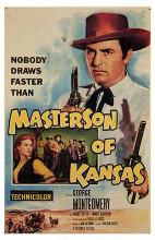 Masterson of Kansas poster print by  Entertainment Poster